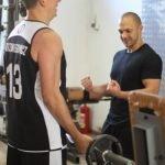 Trening siłowy sztanga
